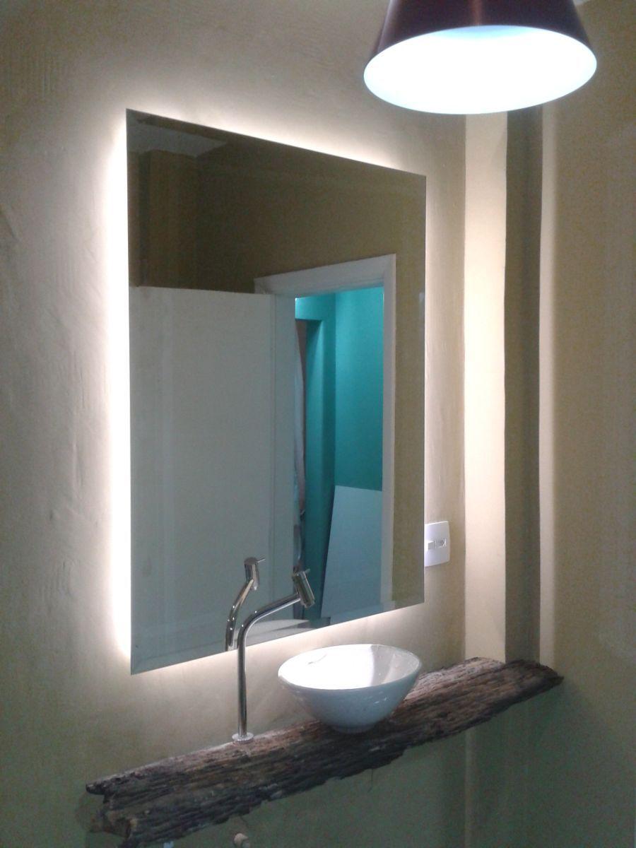 Espejo ba o con luz led buscar con google interiors - Luces espejo bano ...