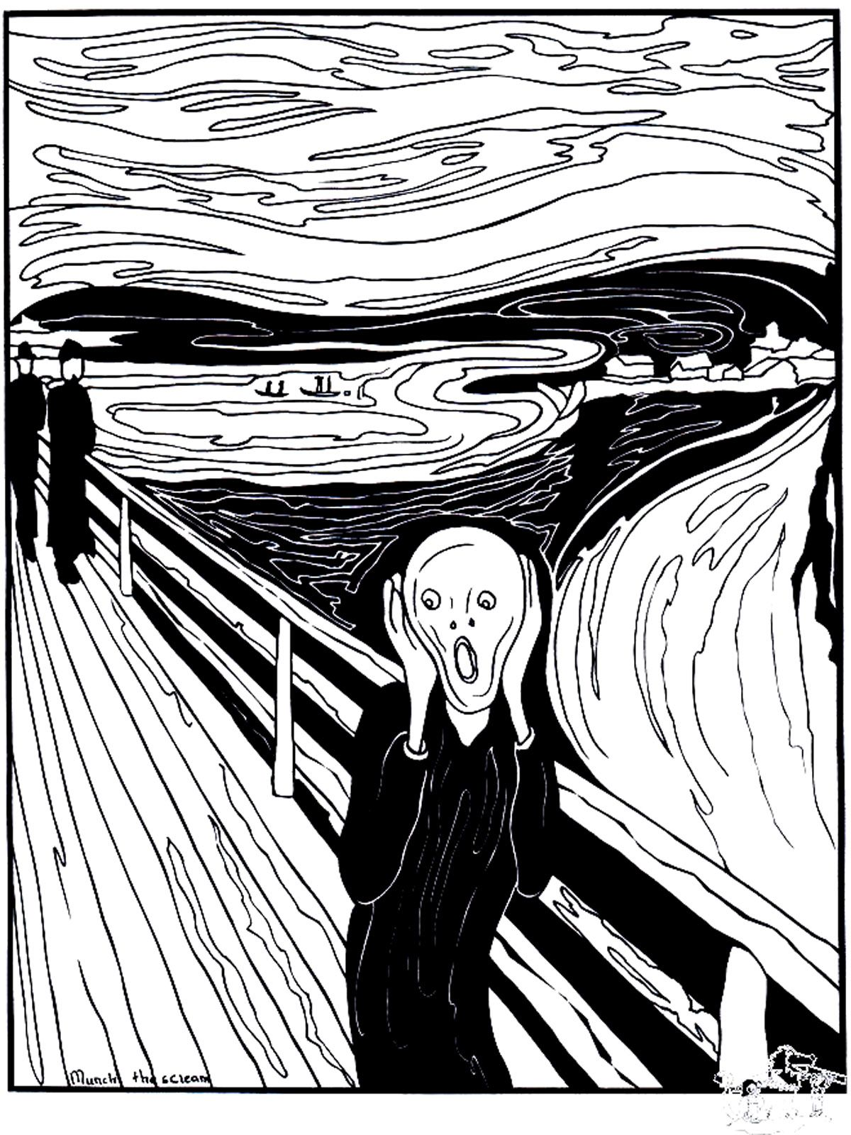 The Scream Was Painted By The Expressionist Artist Edvard