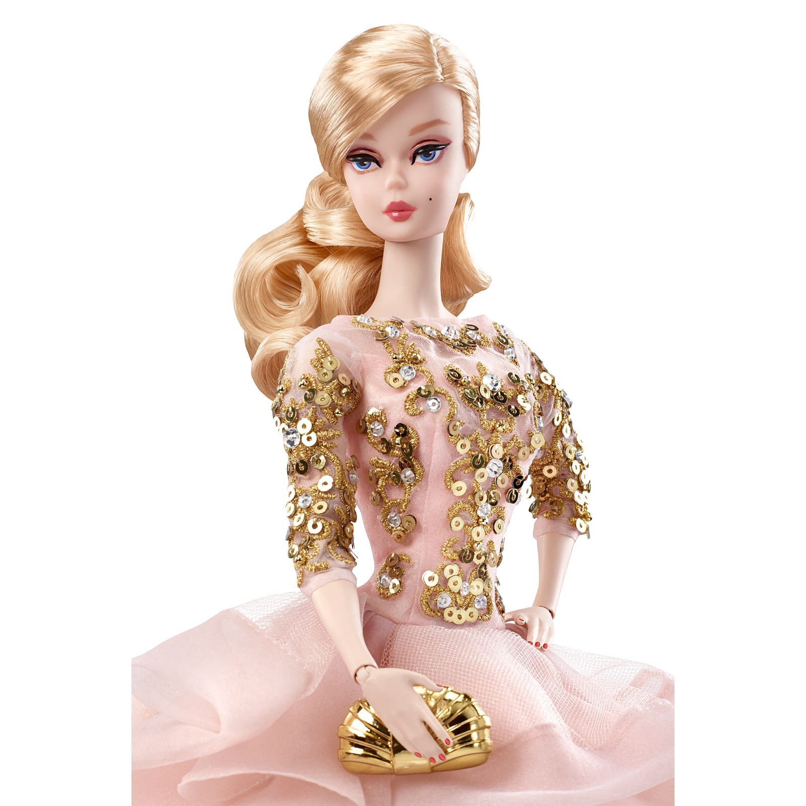 New Barbie 2017 Andy Warhol Superstar Blonde Model Muse Articulated #3 ~ MIB!