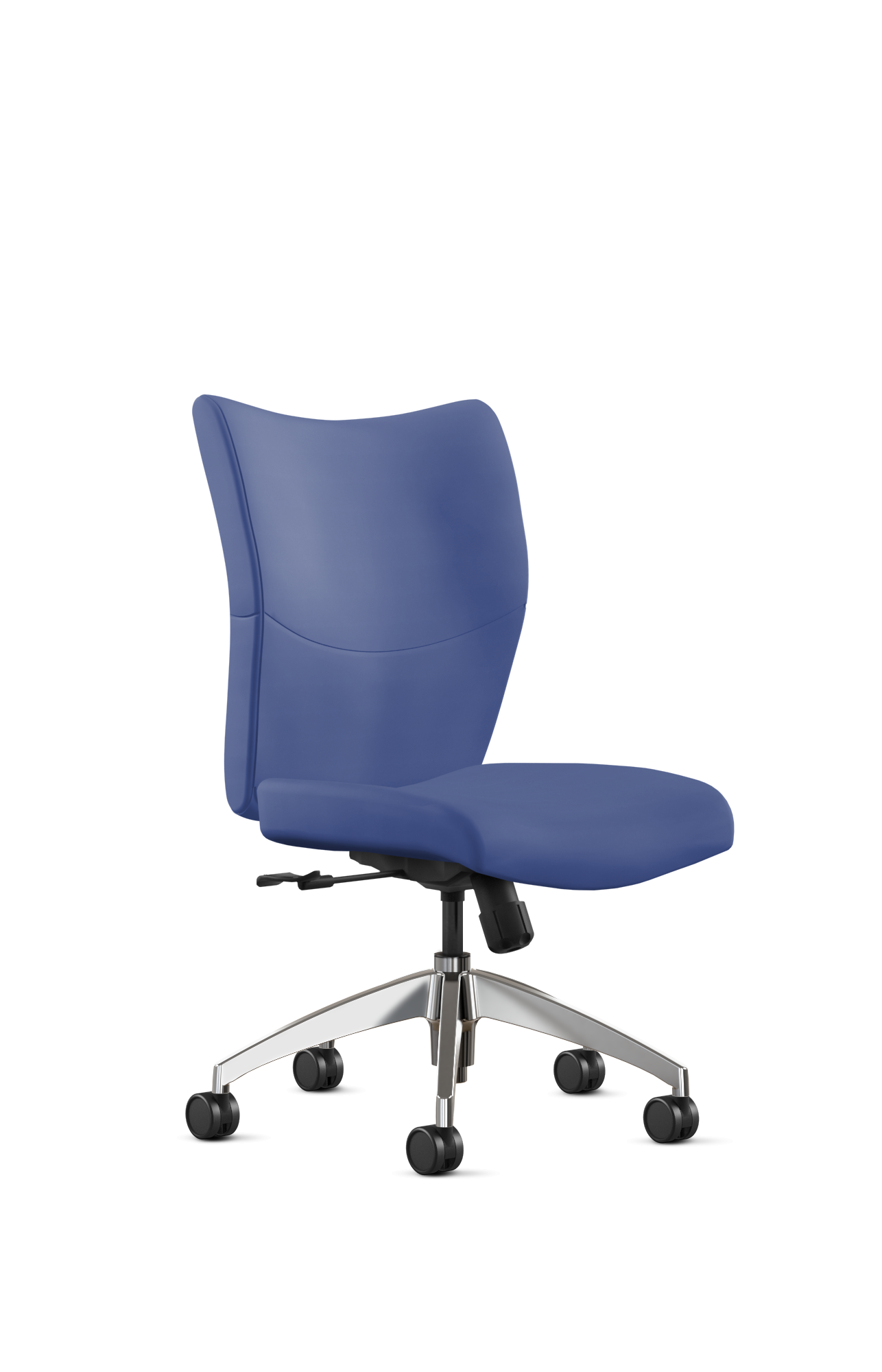 Julianne Blue Leather Arm Chair Leather Desk Cute Desk Chair Chair
