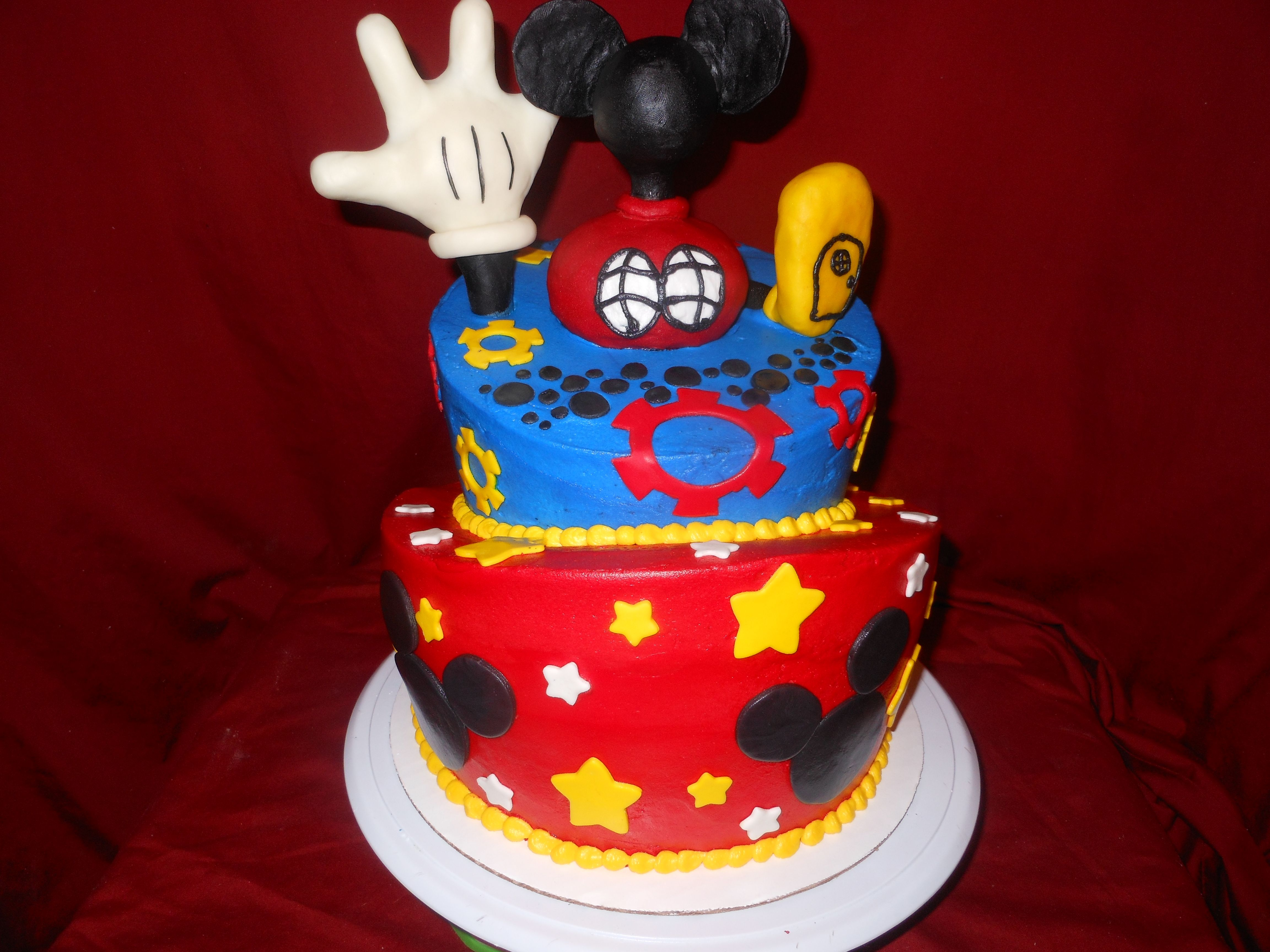 Mickey Mouse Cake From Dream Katcher Cakes Amarillo Tx 806 444