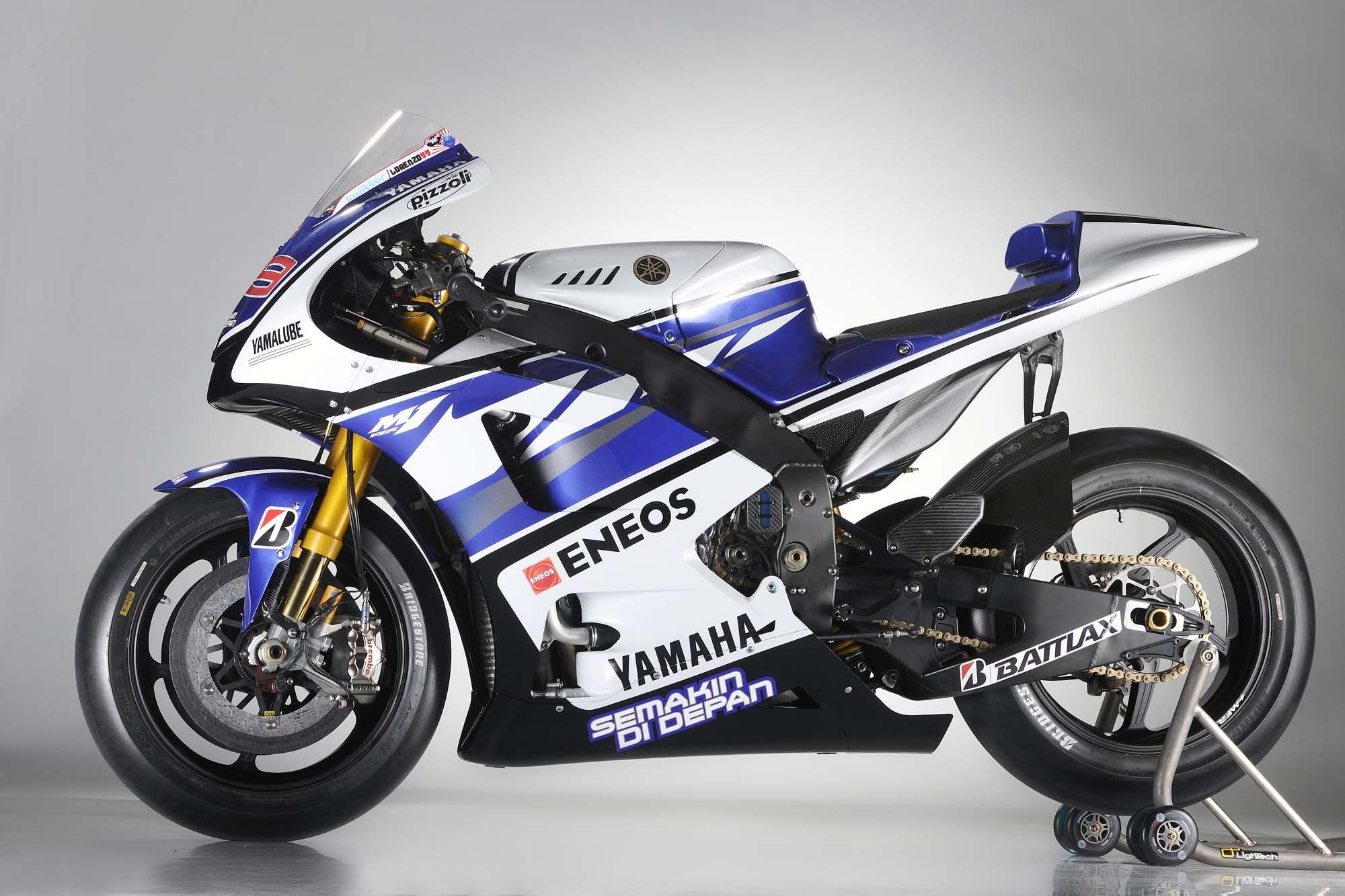 MotoGP Yamaha YZR M1 2013 46 Valentino Rossi Left Side HD