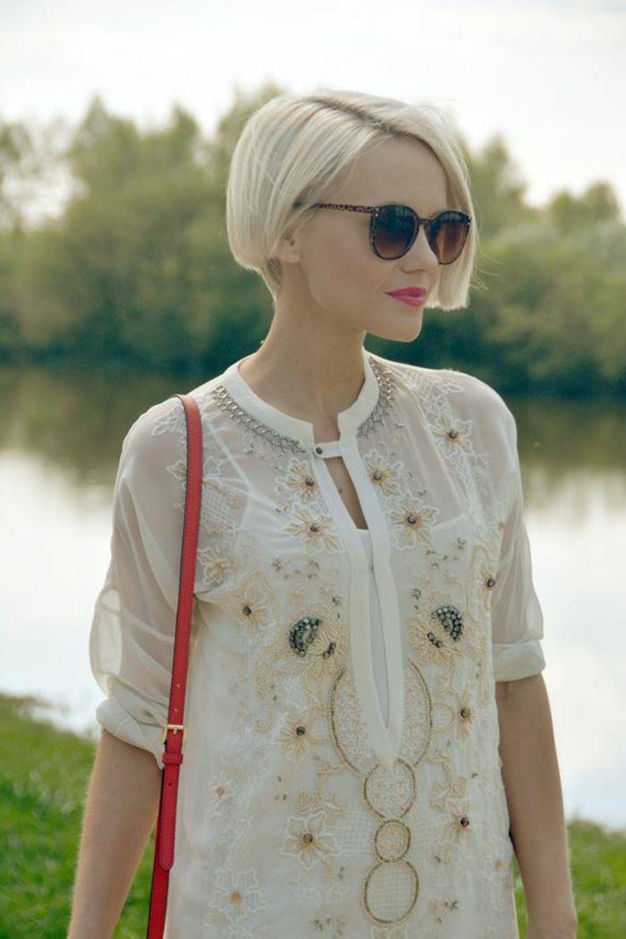1001 + variantes de coupe courte blonde pour rafraîchir
