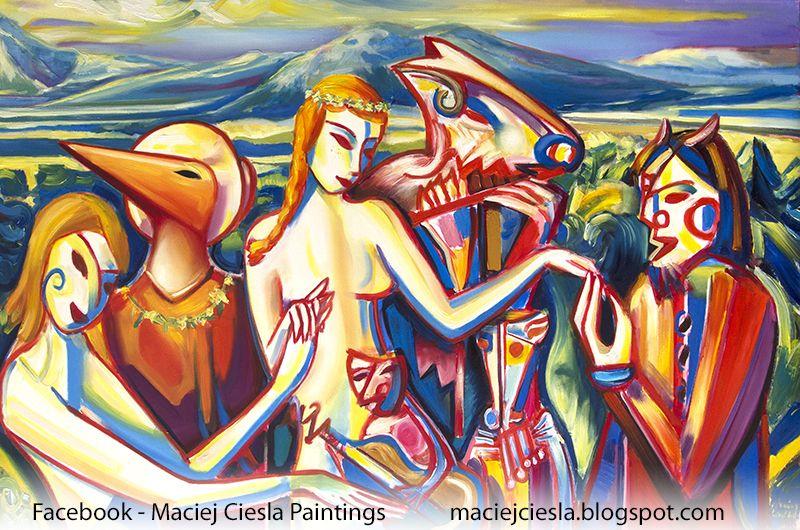 olgemalde des europaischen jungen malers maciej ciesla moderne kunst europaer maler beste bild kunstmacher munche zeitgenossische olmalerei afrikanische kunstwerke