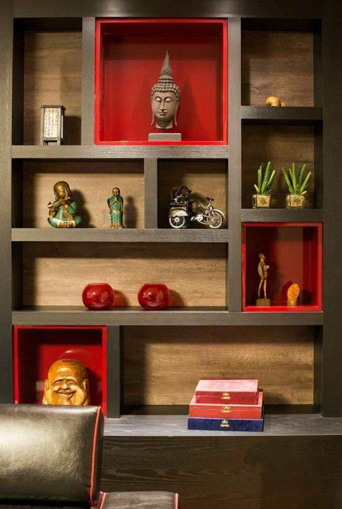 1001 id es comment d corer vos int rieurs avec une niche murale niches murales niche et. Black Bedroom Furniture Sets. Home Design Ideas