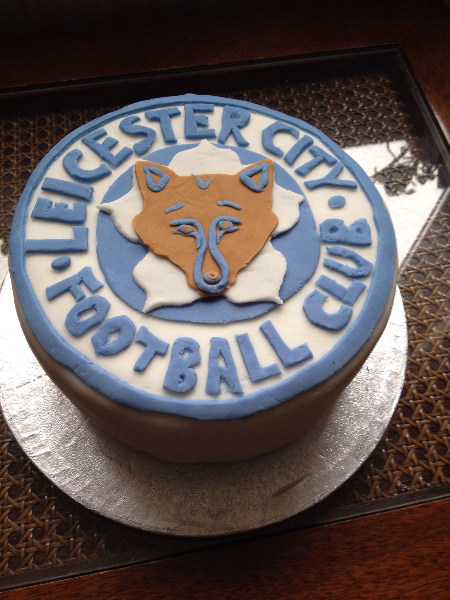 Leicester City Football Shirt Cake