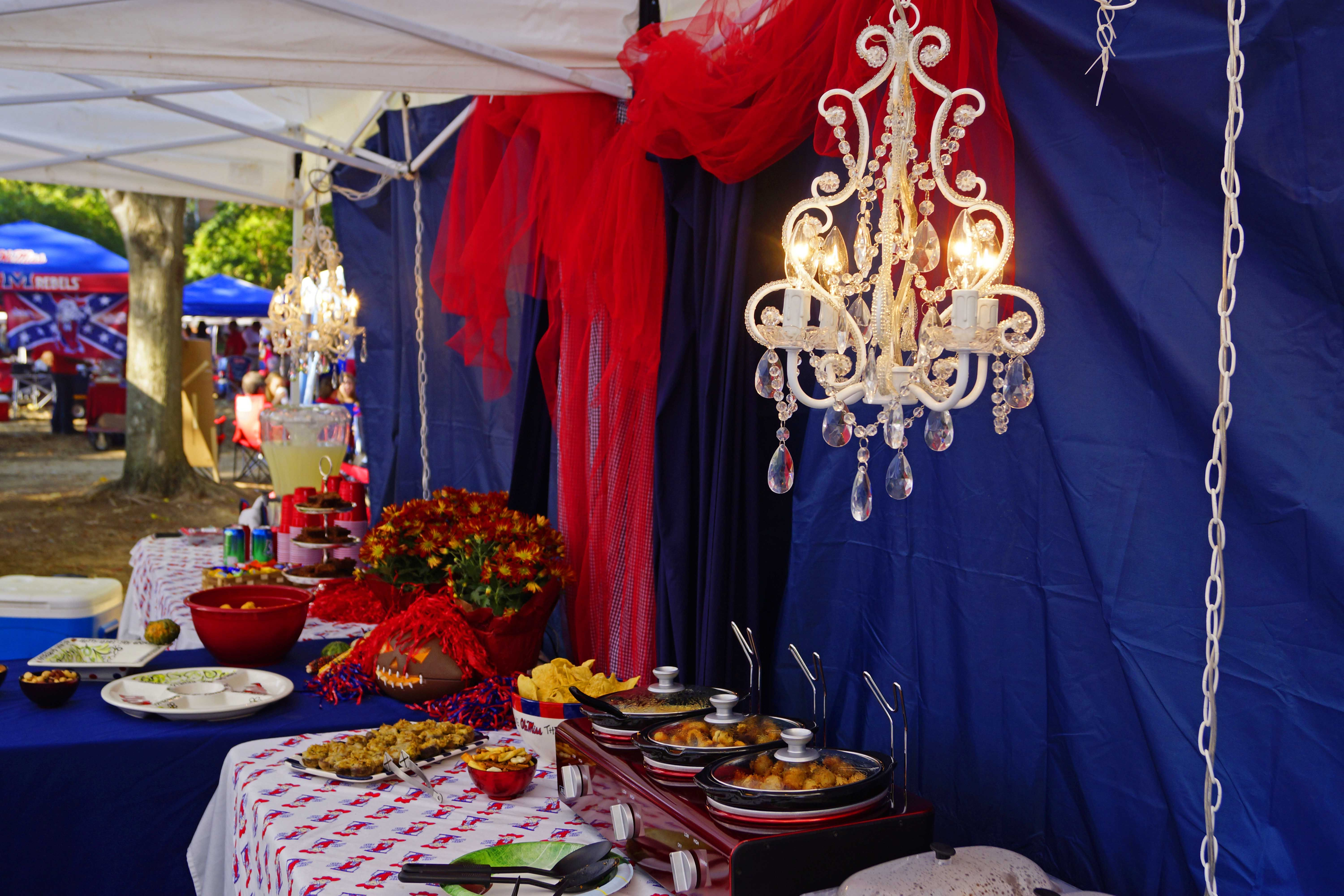 Ole miss grove tailgate google search hotty toddy pinterest ultimate tailgating tent with a chandelier arubaitofo Gallery