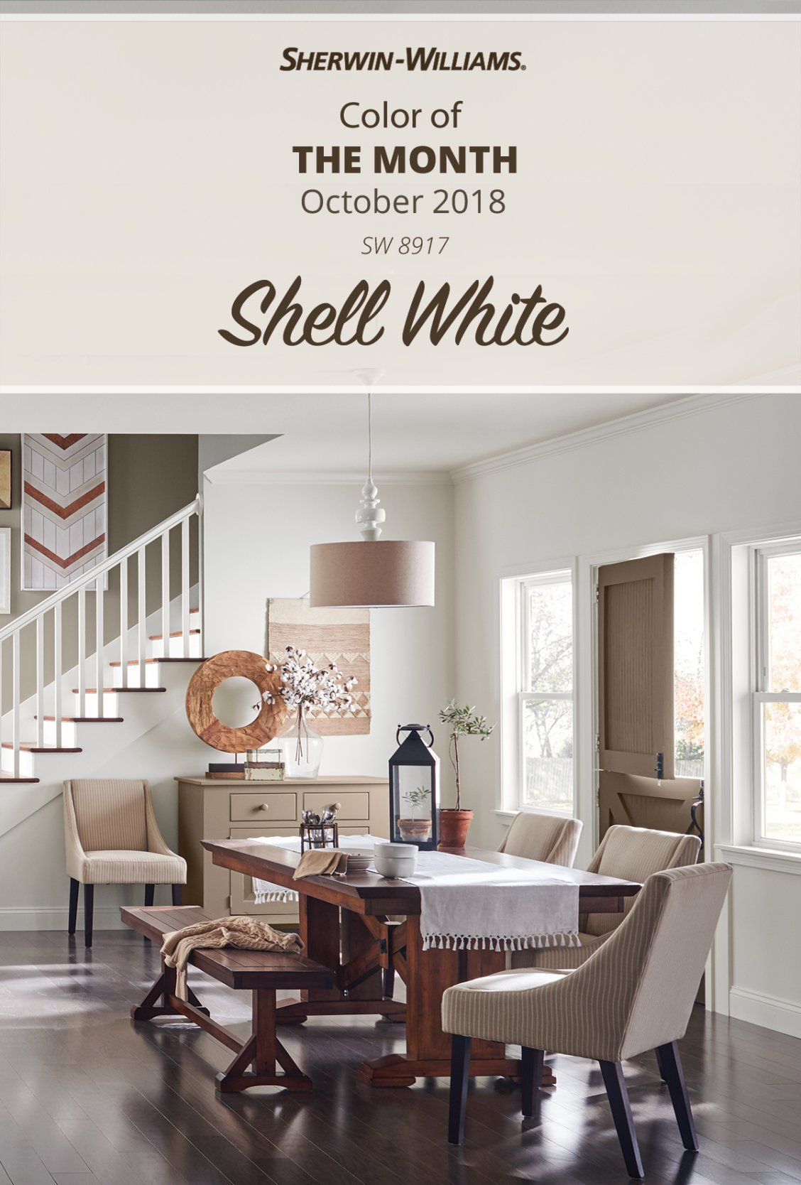 Looking For A Sherwin Williams Hue That Pairs With Just About Anything Find Yourself Fawning Over Futon Living Room Industrial Interior Beautiful Dining Rooms