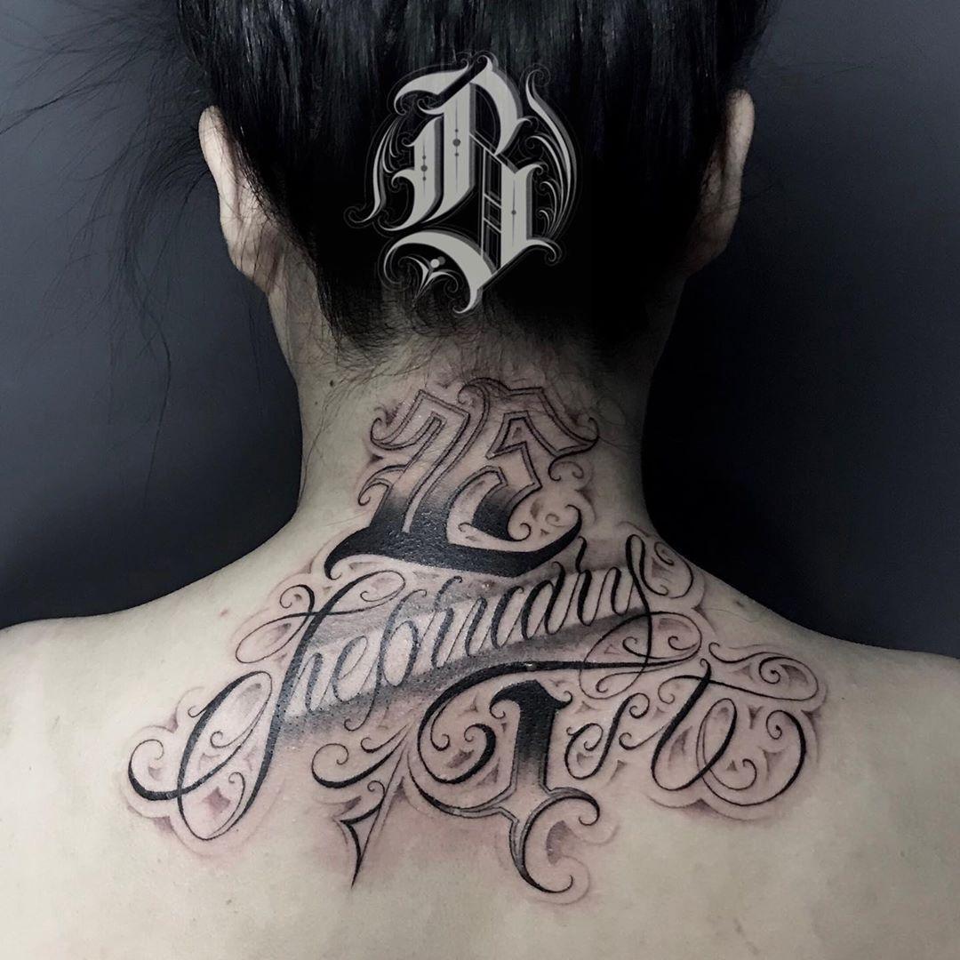 ✍️#tattooer #tattoo #tattooideas #lettering #letteringtattoo #letteringart #letteringchallenge #letteringinspiration #chicano #chicanostyle