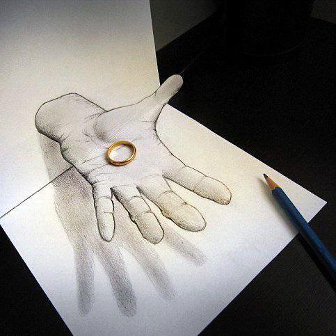 I Love 3d Drawings 3d Pencil Drawings 3d Pencil Art Illusion Drawings