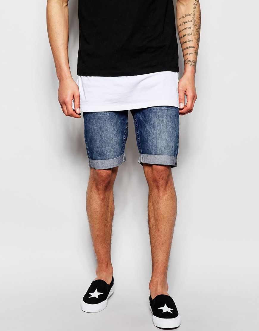 Mens Riot Shorts Religion