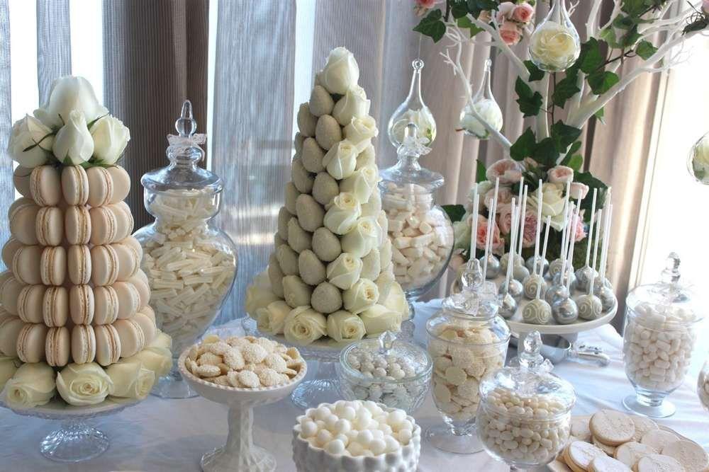 Romantic White Wedding   CatchMyParty.com
