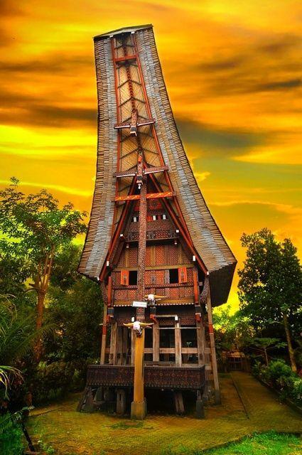 Toraja Achitecture   #MostBeautifulPages