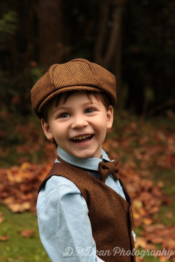 0ff0252954b Tweed boys hat