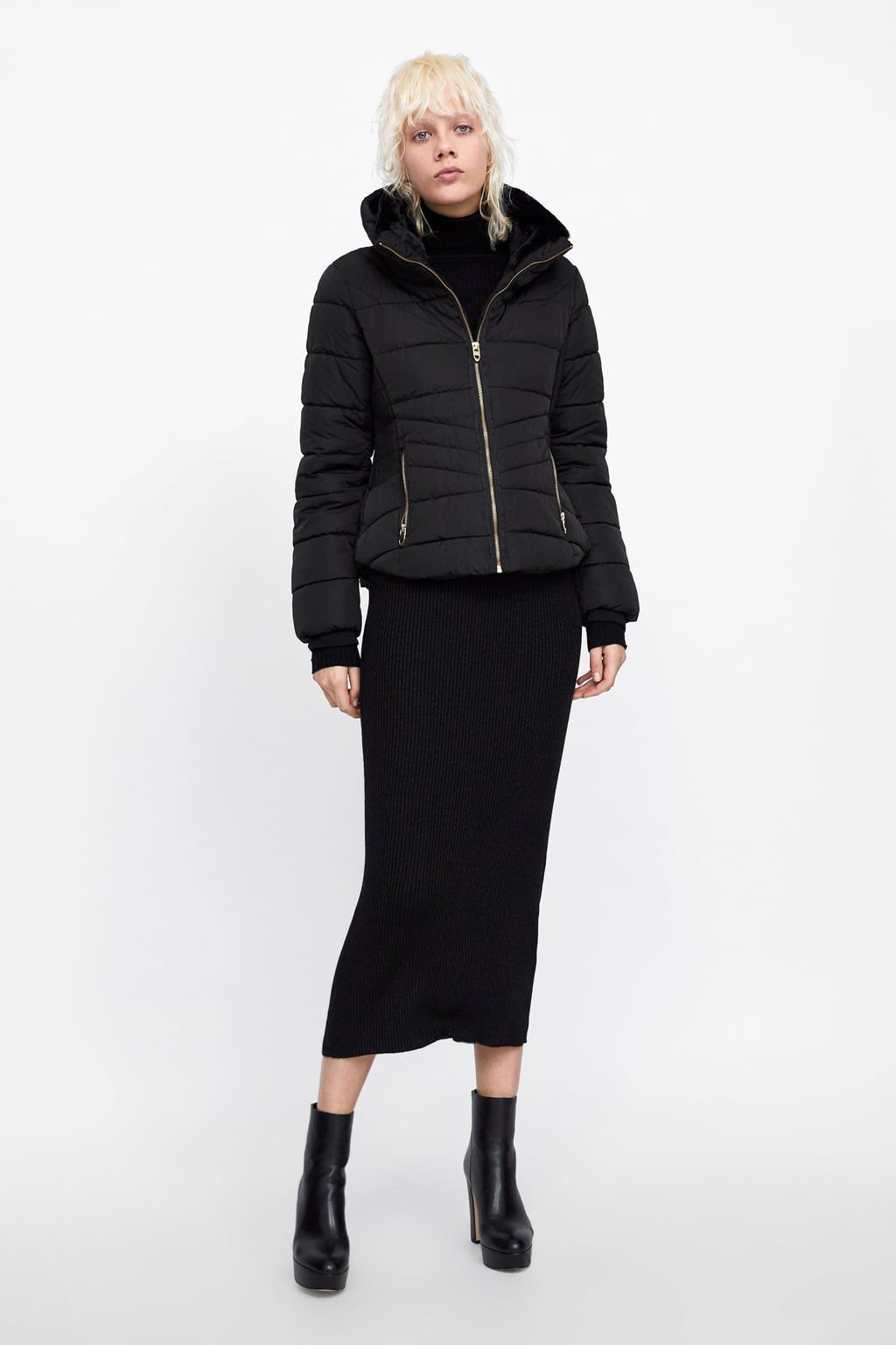 Image 1 of PUFFER PARKA from Zara  3461ba5621c