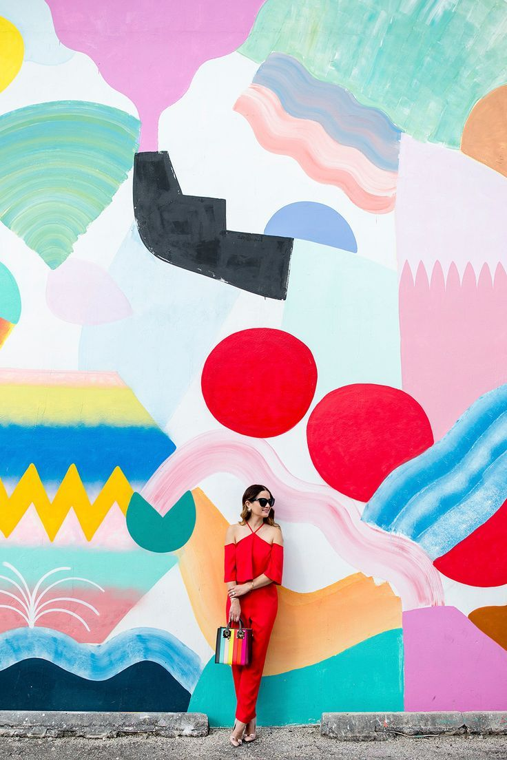 Miami Street Art, Murals, and Colorful Walls