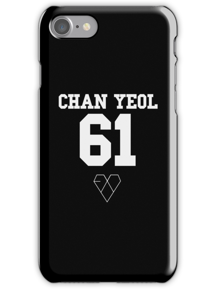 Exo Jersey Chanyeol Phone Case Iphone Case Cover Produk