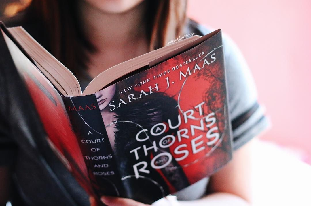 runs around in circles screaming ACOTAR was my #hypebusters2k16 for @bibliophileacademy and guess what? TOTAL SUCCESS. 5/5 stars. I devoured this book in one day. Need I say more?  This is also my post for day 28 of #keepbookmarching: favorite characters - because Feyre and Tamlin and Rhysand ahsidjndkxkand.  by myriadinklings