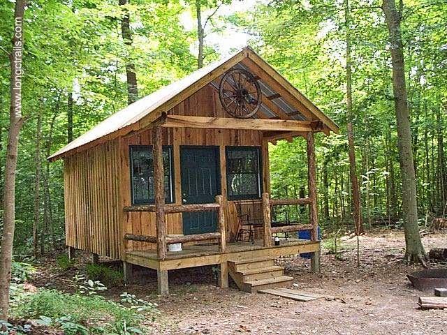 Arquitectura de casas 11 caba as r sticas peque as de for Cabanas infantiles en madera
