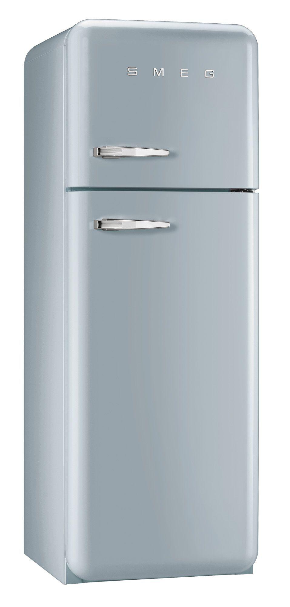 Smeg FAB30RFS Silver Freestanding Fridge Freezer | Departments | DIY ...