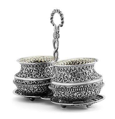 Kutch Bhuj Gujarat Silver Pooja Items Silver Art Silver Accessories