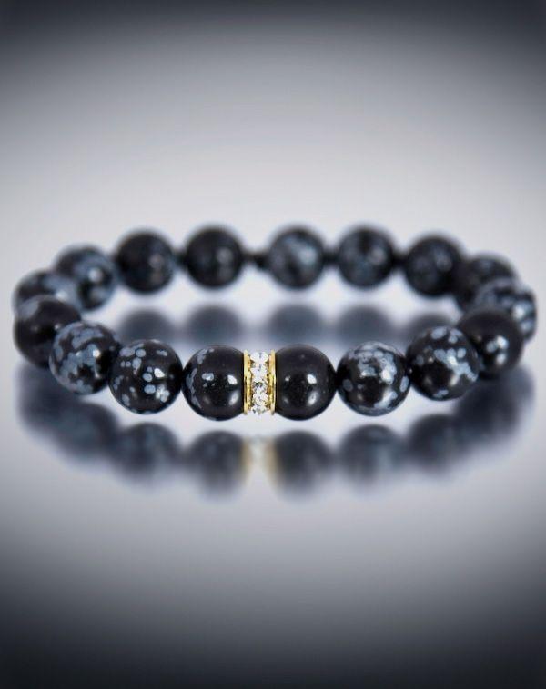 Dyoh Jewelry Swarovski Crystal Gold Inset And 10 Mm Leopard Jasper Bead Bracelet Dyoh554 101 Dyoh Bead Bracelet Jasper Bead Bracelet Beaded Bracelets Jewelry