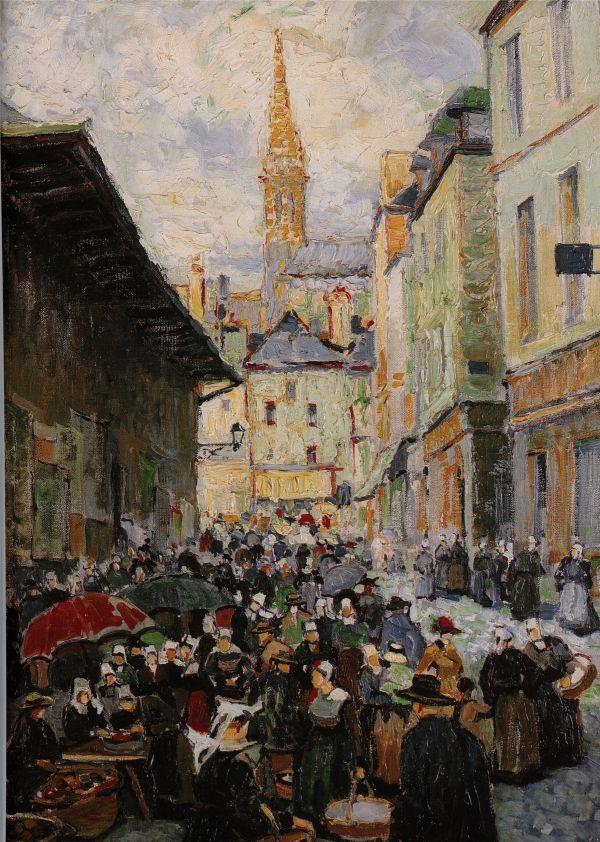 Marche A Quimper 1920 Pierre De Belay 1890 1947 Tres Tot