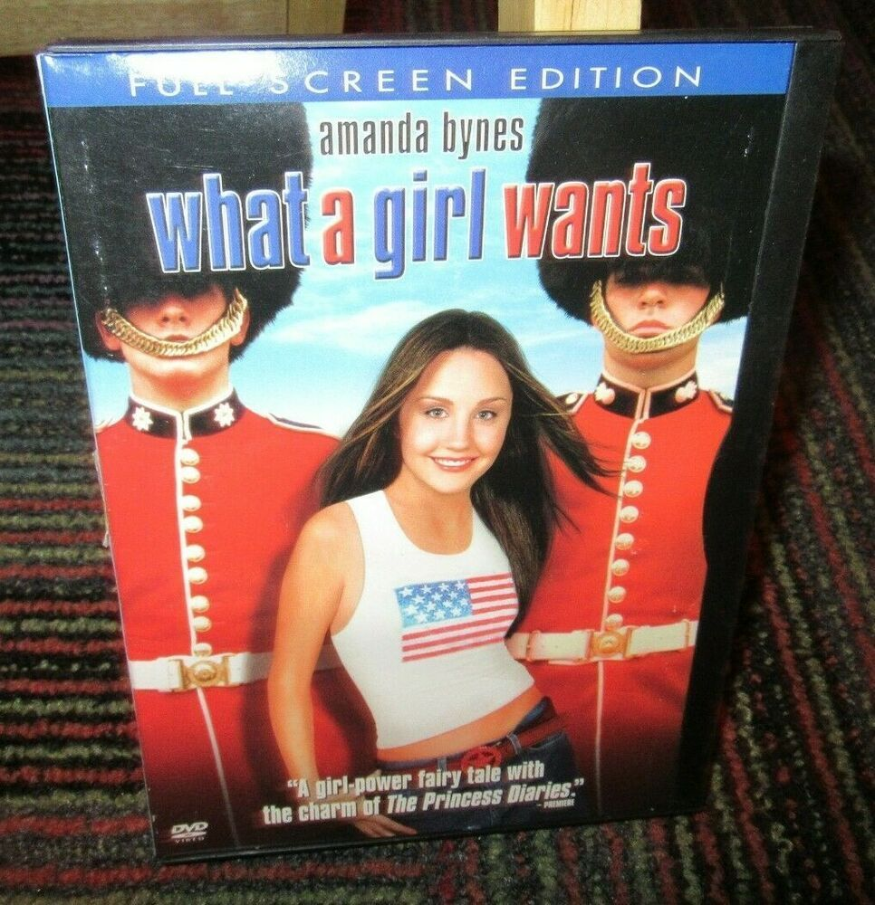 WHAT A GIRL WANTS DVD MOVIE, AMANDA BYNES, COLIN FIRTH