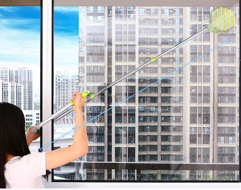 The Aluminum Telescoping Duster Allows You To Clean The Most Hard To Access Places Garage Door Types Window Washer Cleaning Dusters