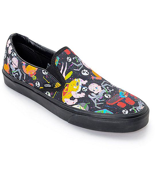Vans Toy Story Slip On turquesa