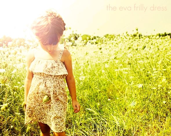 eva frilly dress