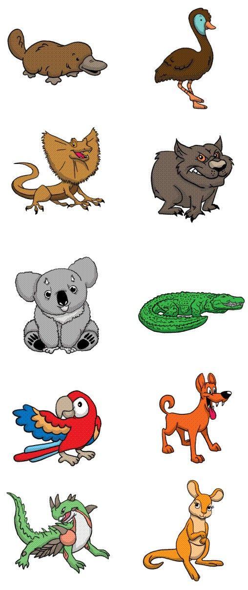 outback animals m australian animals pebble art animals rh pinterest com Shooting Star Clip Art Christmas Packages Clip Art