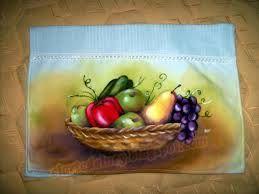 arte pintura de fruta