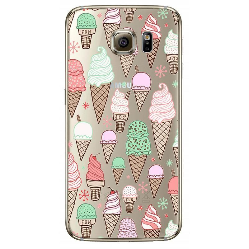 Donuts Pizza Silicone Cover Fundas Coque For Samsung Galaxy J3 J5 A3 A5 2016 2015 2017 S3 S4 S5 S6 S7 Edge Core Grand Prime Case In 2021 Phone Cases Samsung
