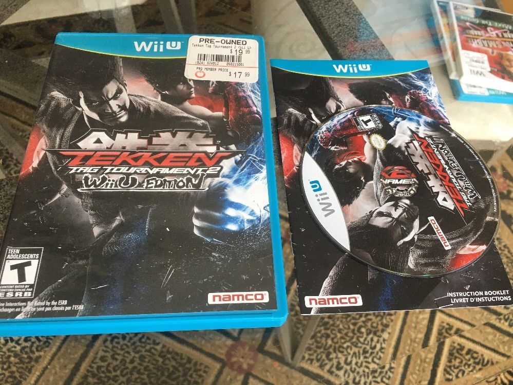 Tekken Tag Tournament 2 Wii U Edition Nintendo Wii U Complete