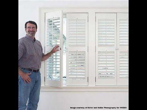 Sommerfeldu0027s Tools For Wood   Window Shutter Set Made Easy With Marc  Sommerfeld   Part 2