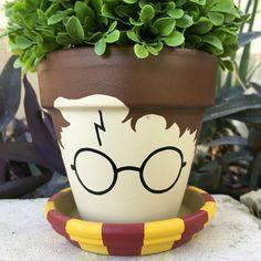 Harry Potter Flower Pot #flowerpot