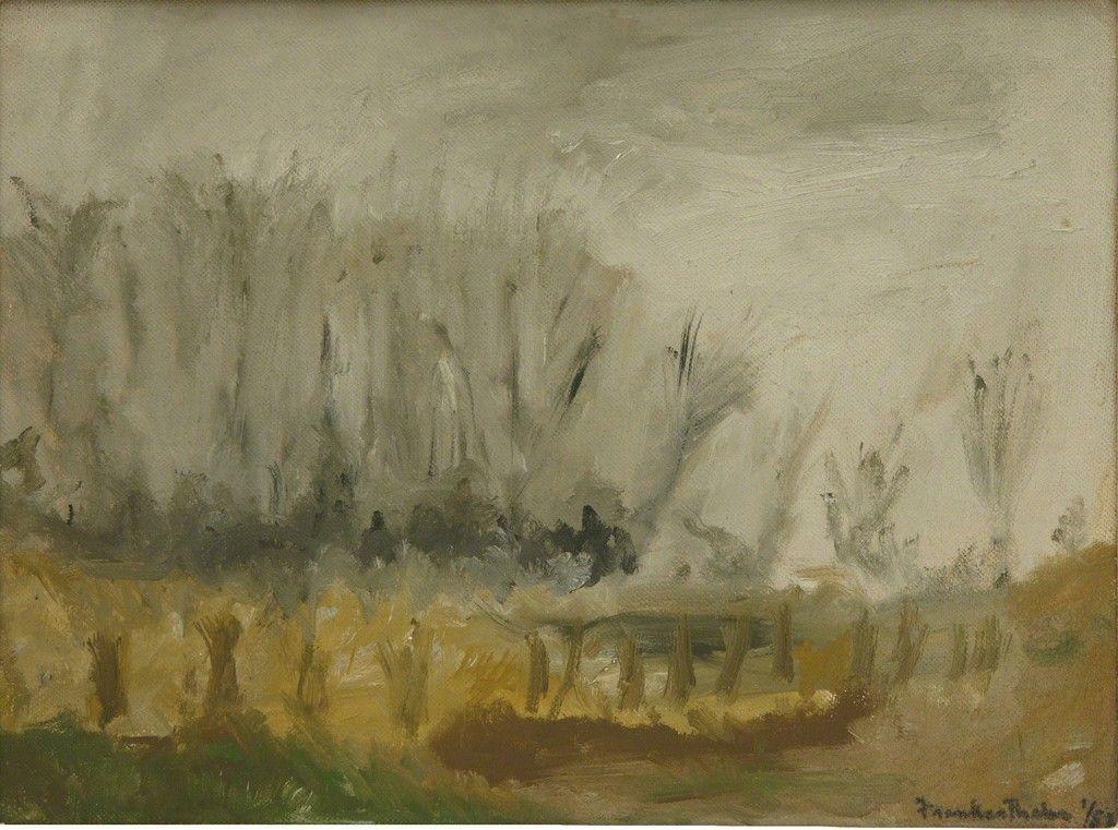 Helen Frankenthaler, New Jersey Landscape, 1952, Helen Frankenthaler Foundation