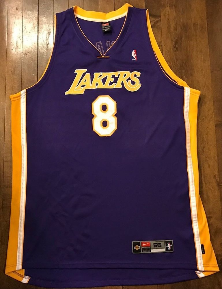 7a072ac08e5b Los Angeles Lakers Kobe Bryant Nike Authentic NBA Basketball Jersey Mens 56  3XL (eBay Link)