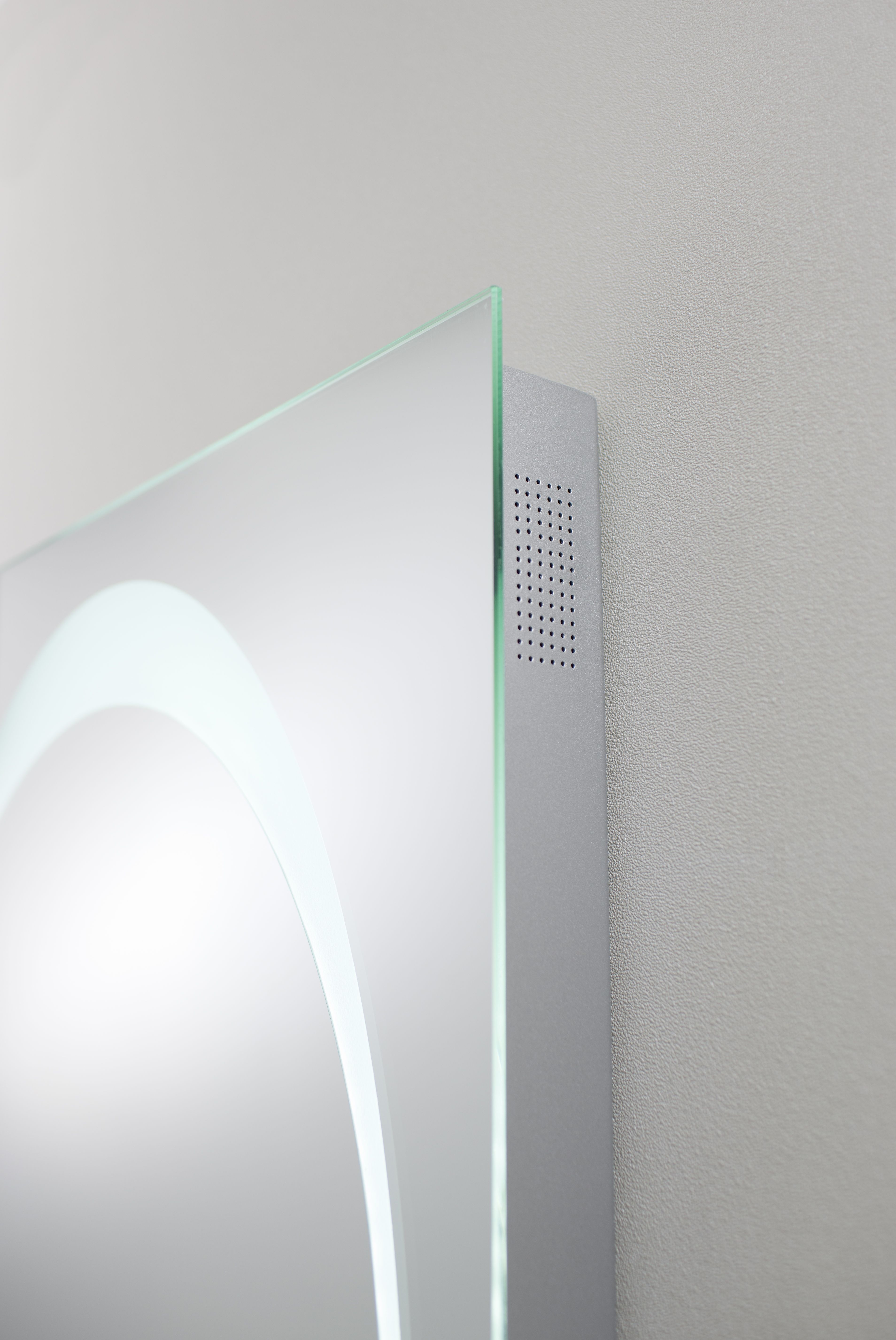 Innovative mirror with high quality stereo speaker - Revive LED ...