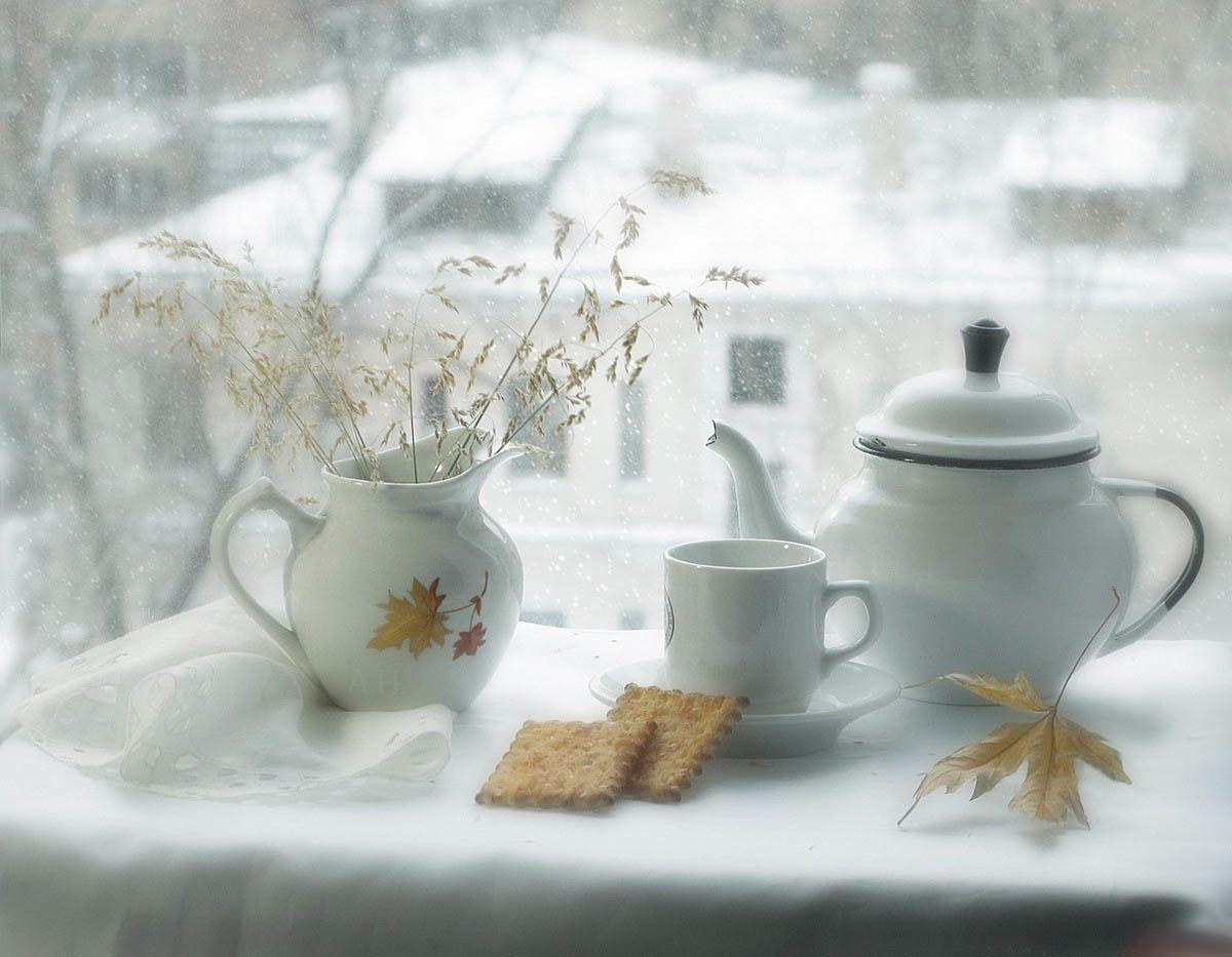 Доброе утро зимой открытки