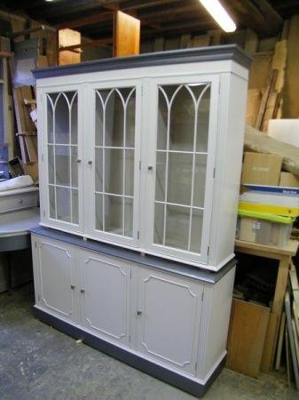 Relooking meuble peint biblioth que table bahut vemars 95 meubles customis s pinterest - Relooking meuble ...