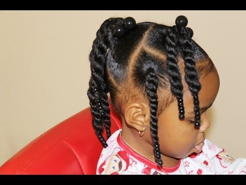 Black Toddler Hairstyles New Toddler Hair Style Fast & Easy  Youtube  Kid Hair Inspirations