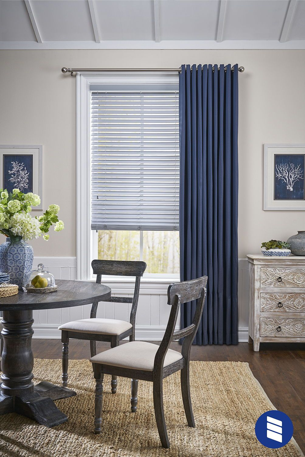 2 Inch Room Darkening Fabric Blinds Blinds Com In