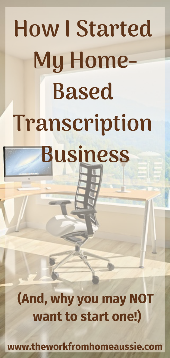 How I Started My Work From Home Transcription Business