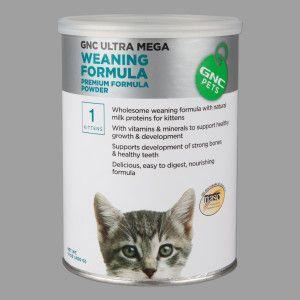 Gnc Pets Weaning Kitten Formula In 2020 Kitten Formula Best Cat Food Pets