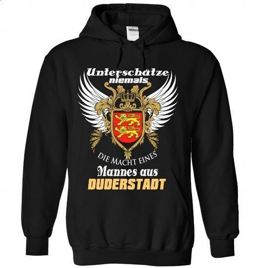 Duderstadt,Deutschland - #button up shirt #under armour hoodie. I WANT THIS => https://www.sunfrog.com/States/DuderstadtDeutschland-9796-Black-Hoodie.html?68278