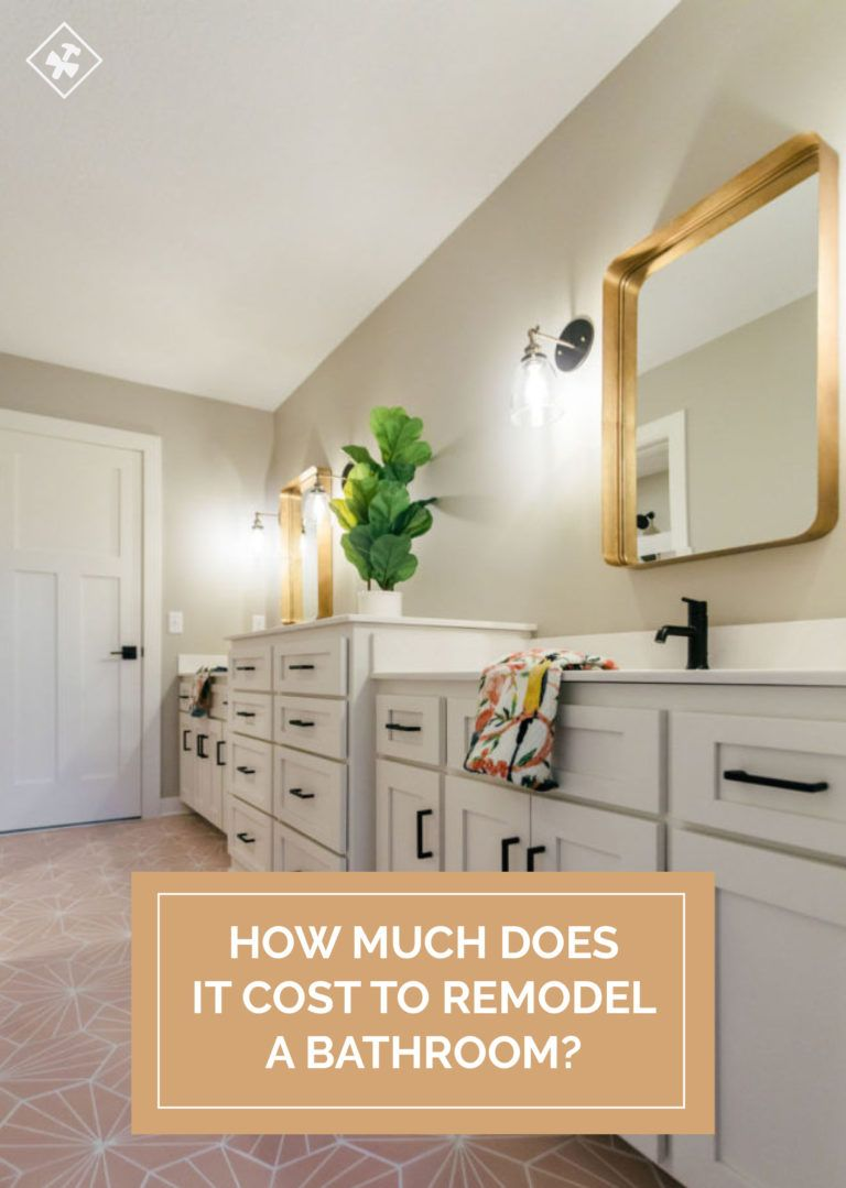 How Much Does It Cost To Remodel A Bathroom White Master