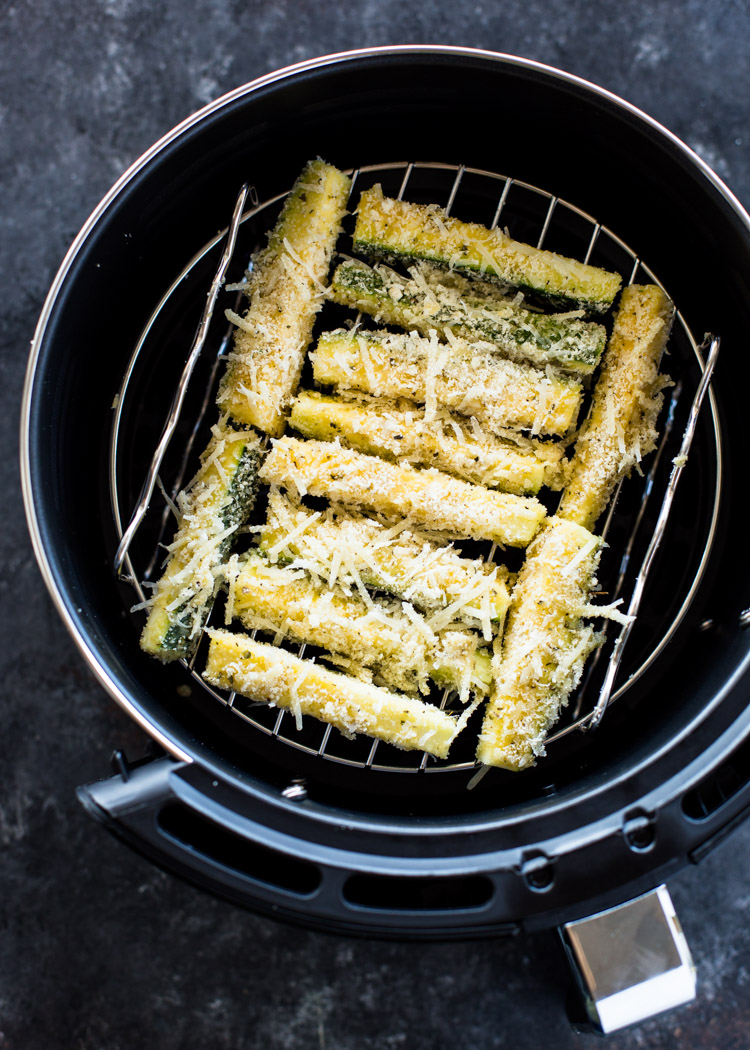 Air Fryer Zucchini Fries (Low Carb Keto) Gimme