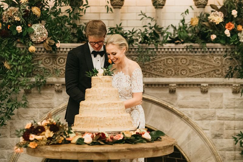 Timeless and elegant with a slightly untraditional twist, the details brought this beautiful autumn wedding to life.